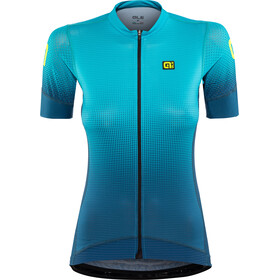 Alé Cycling PRS Dots SS Jersey Dam petroleum-turquoise